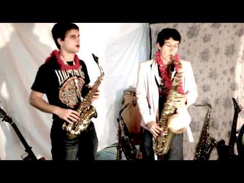 Fourteen 2014 pop songs on saxophone