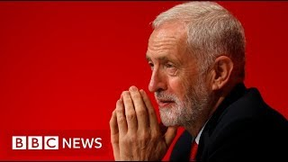 Corbyn wins crunch Labour conference Brexit vote  - BBC News