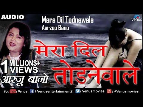 मेरा दिल ताेडनेवाले | Mera Dil Todnewale | Arzoo Bano | Best Bollywood Sad Songs 2017