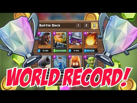 RECORD BREAKING DECK! Clash Royale | AMAZING DECK THAT IS UNDEFEATED! COPY DECK CHALLENGE #12