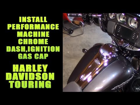 Add Show Winning Chrome To Your Harley With Performance Machine Billet Kit