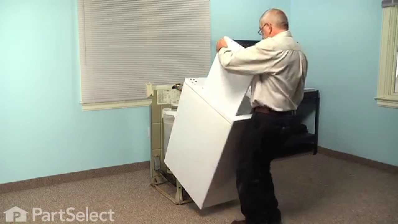 washing machine repair replacing the drive motor whirlpool part 661600  [ 1280 x 720 Pixel ]