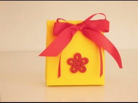 3bcfdecc6 Bolsita de dulces para regalar - YouTube