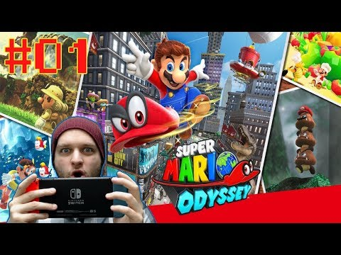 I Finally Got My Nintendo Switch And It's Awesome! - Super Mario Odyssey - Gameplay [#01]