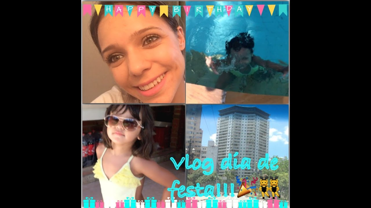 Vlog piscina festa e muito mais veda3 youtube for Vlog in piscina