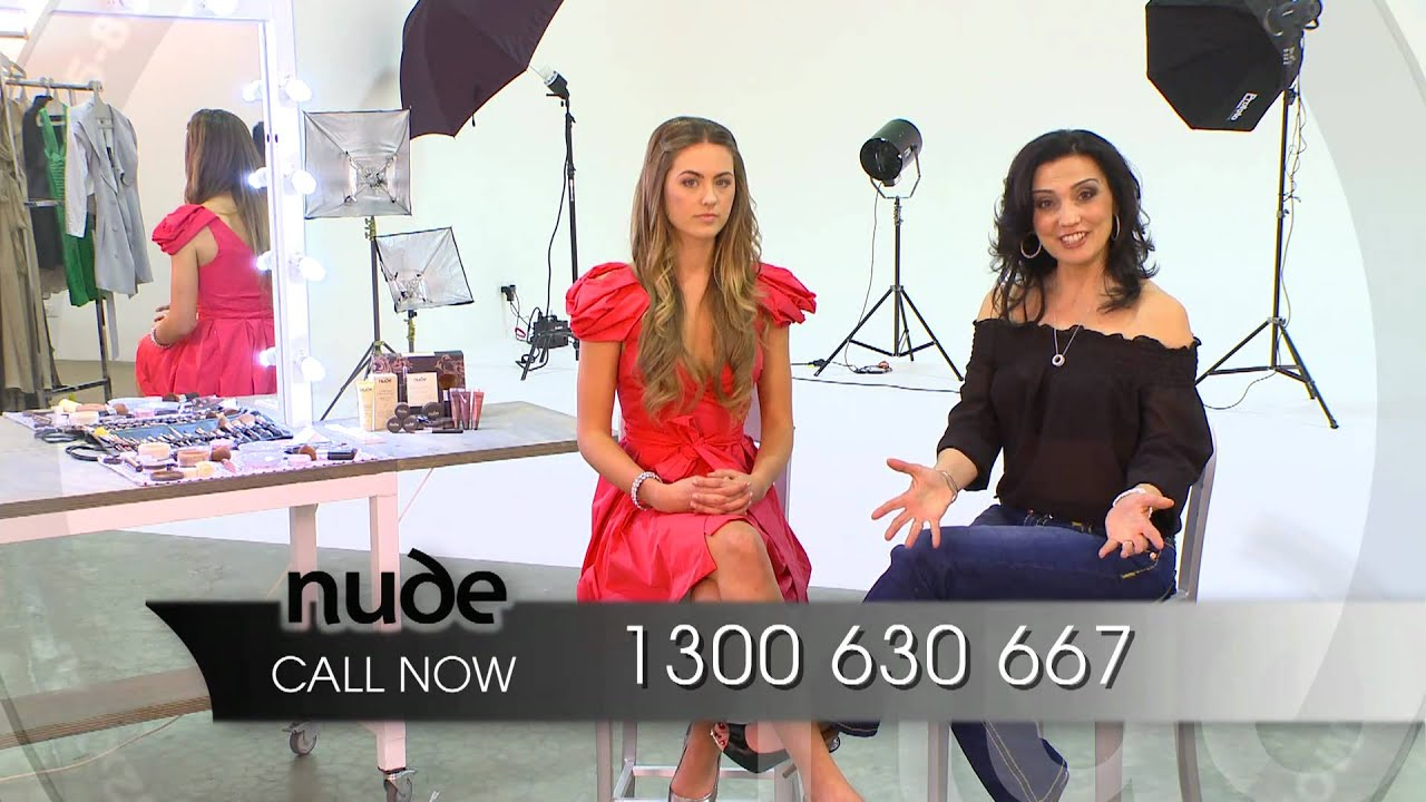 Nude By Nature Miss Universe Australia 60 Second TVC - YouTube