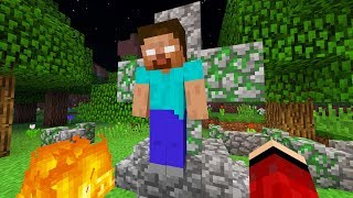 I FOUND HEROBRINE IN MINECRAFT.. (%100 REAL FOOTAGE) *Not Clickbait*