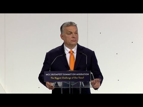 Orbán Viktor beszéde a nemzetközi migrációs konferencián - ECHO TV