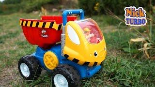 Машинка Самосвал. Яркая и интересная игрушка для деток. Обзор игрушек с NickTURO  WOW TOY TRUCK