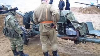 Противотанковая 85 мм пушка СД 44.