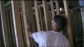 Setting Framed Interior Basement Walls Like A Pro!
