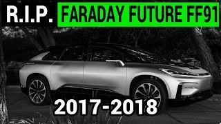 R.I.P. Faraday Future FF91: Yes, I'm calling it!