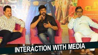 Sye Raa Team Interaction With Media | Chiranjeevi | Ram Charan | NTV Entertainment