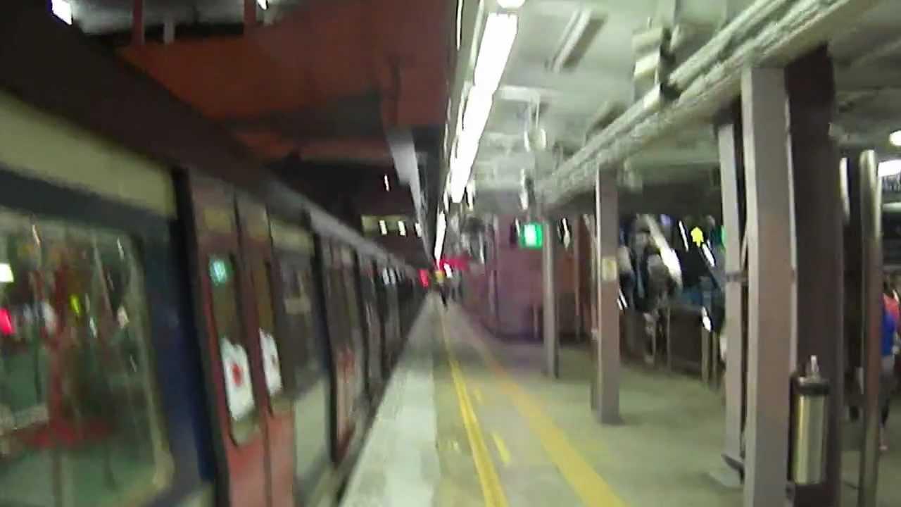 港鐵東鐵線MLR特別列車(181)[本班列車以本站(沙田)為尾站] 駛入及駛離沙田站 - YouTube