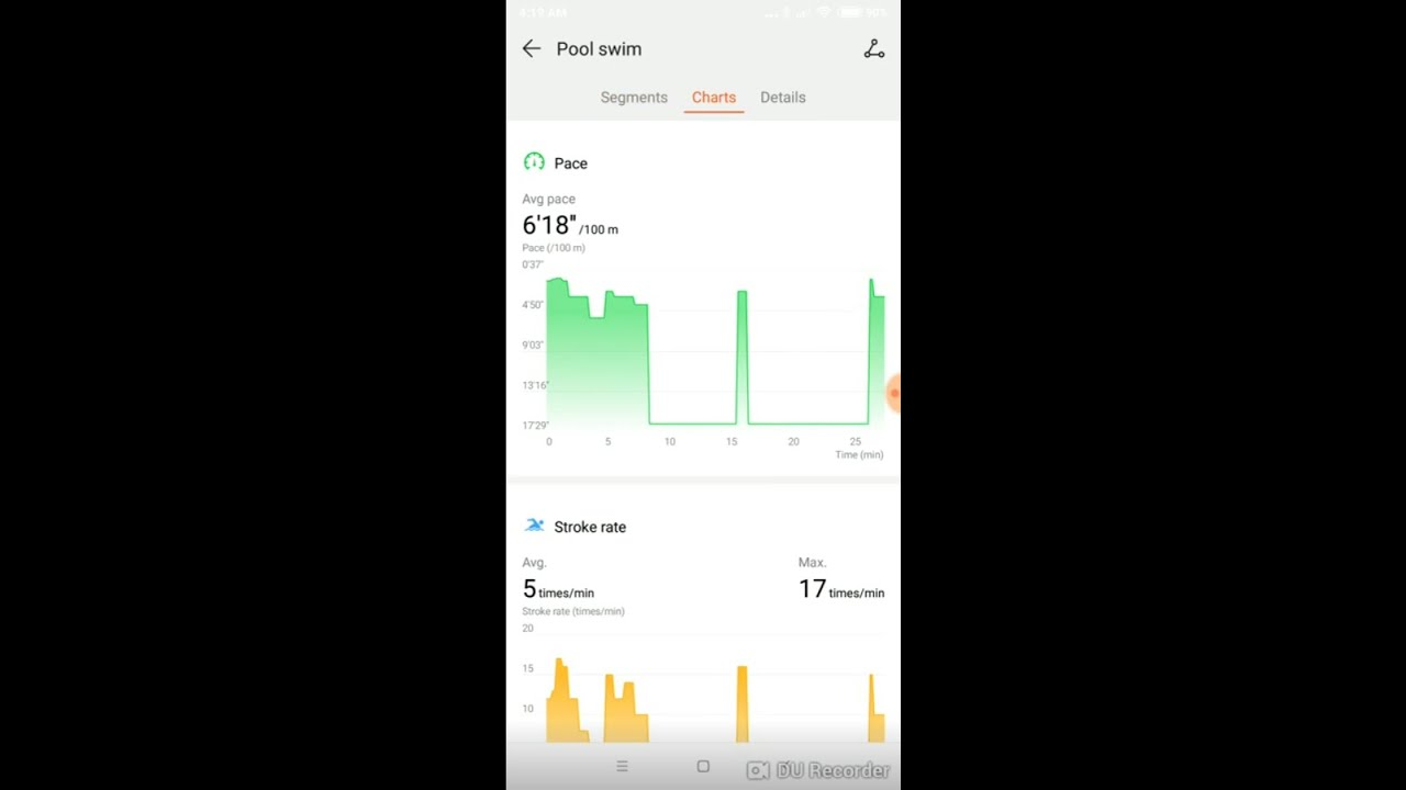 Honor Band 4 Swimming Records, Stroke Recognition, [Huawei Health]