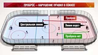 Проброс — нарушение правил в хоккее