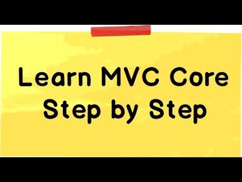 mvc core tutorial