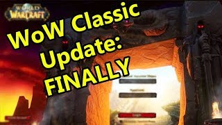 WoW Classic Update: FINALLY! | WoWcrendor