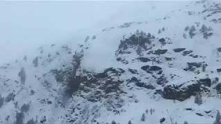 Lawine in Zermatt