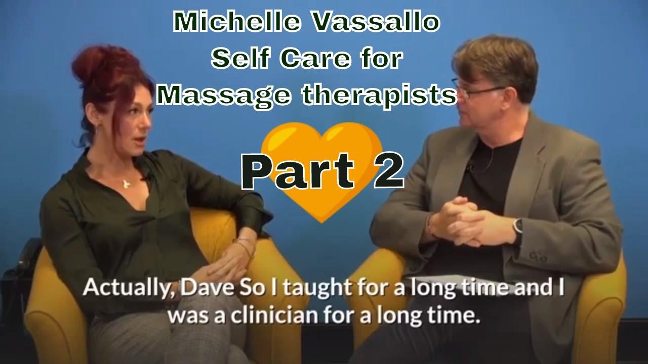 Michelle Vassallo interview Discussing Self Care for ...