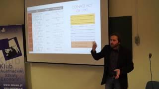 """""""Krótka historia pieniądza - Złoto, teoria i praktyka"""" - wykład Pawła Jurewicza"""