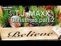 T.J. MAXX Christmas Decor 2019 part 2