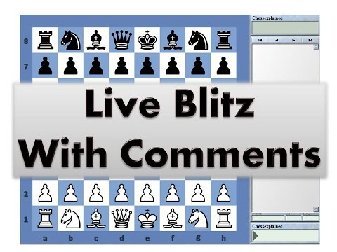 Blitz Chess #2478 with Live Comments Kings Indian Benko vs IM Sylar T Anton with Black