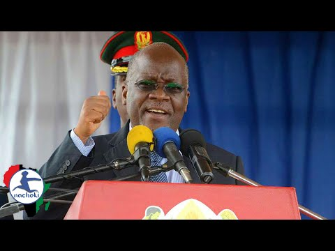 Africa's Most Loved President Magufuli Commands US & EU to Lift Zimbabwe Sanctions