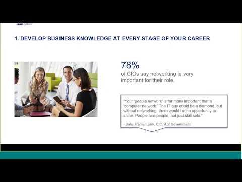 How to become a CIO
