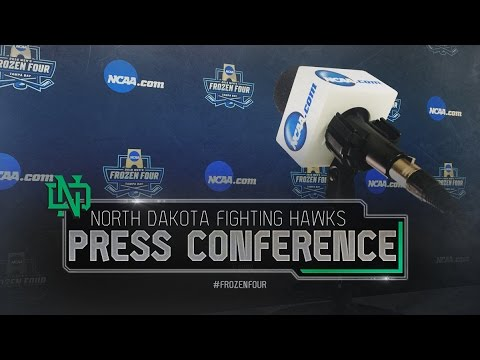 Frozen Four: North Dakota Press Conference