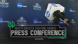 Frozen Four: North Dakota Press Conference