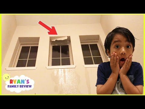 Thumbnail: Scary Tornado Storm destroyed our House + Emma and Kate learn to Brush Teeth