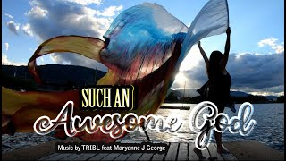 Worship flags Such an Awesome God by Maverick City / TRIBL / Dance Cover ft Claire / CALLED TO FLAG