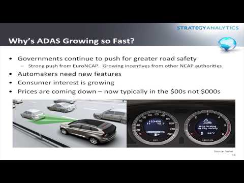 Strategy Analytics' Roger Lanctot Discusses ADAS Market Opportunities