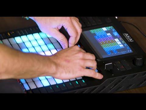 Akai Force Standalone Sampler/Sequencer Demo
