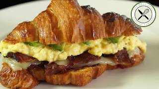 Breakfast Sandwich  Bruno Albouze