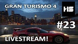 CHILLIN' & RACING HOTSTONE! GRAN TURISMO 4 A-SPEC LIVESTREAM #23