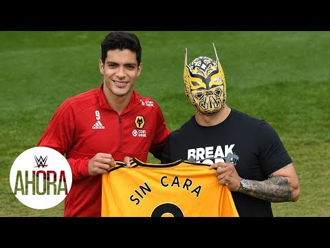 Sin Cara lleva suerte a Raúl Jiménez: WWE Ahora