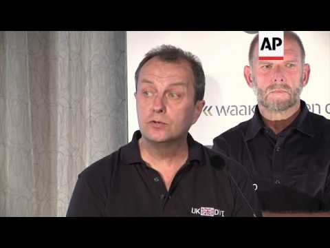 Bodies arrive in Netherlands; forensic experts on identification process