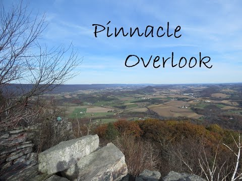 Hiking to the Pinnacle Overlook, Hamburg PA