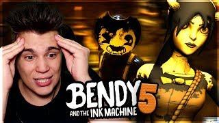 PRAWDZIWA TWARZ  BENDIEGO!   - Bendy and the Ink Machine [CHAPTER 5]