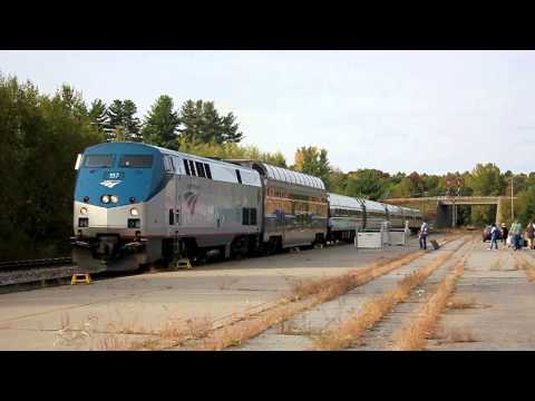 Amtrak Adirondack Train No. 68 & 69 (Dome Car) Saratoga Springs