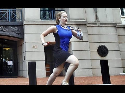ac727058d Manafort trial  Who is the woman in the blue dress  - YouTube