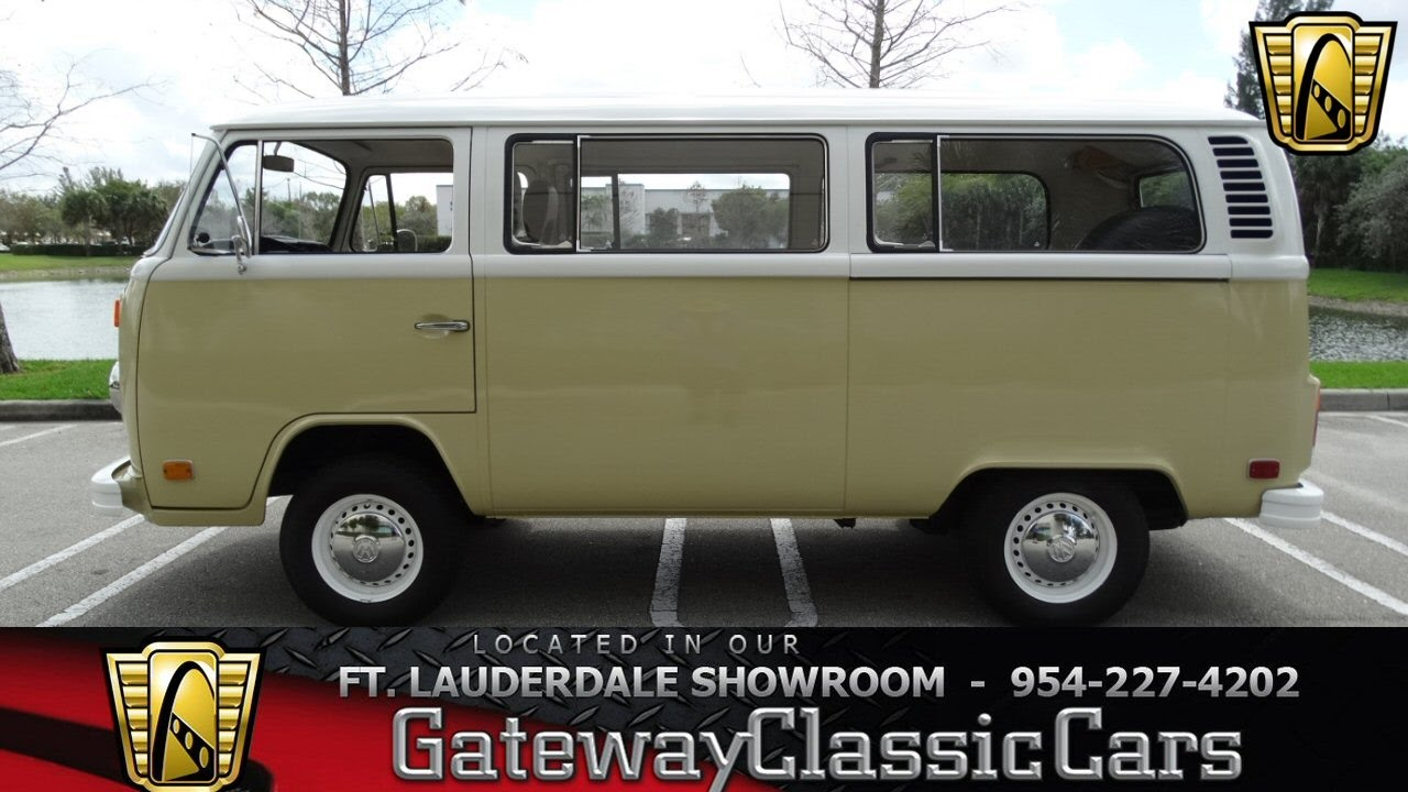 49738af95f 464 1975 VolksWagen Type 2 - YouTube