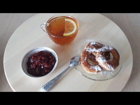 Творожные пончики / Рецепты с фото