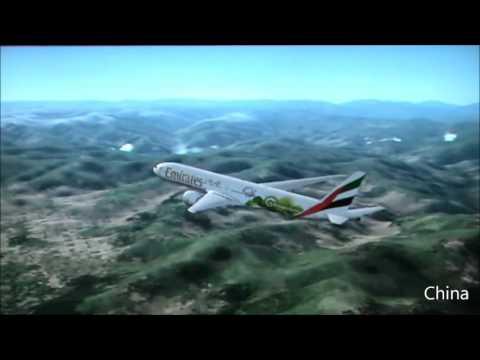 #2 Boeing 777-300ER Emirates [Dubai - Tokyo] (FIFA Worldcup Livery)