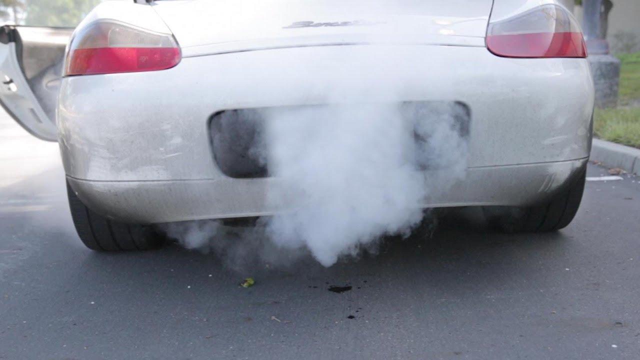 Porsche Boxster White Smoke Fix Beatthebush Youtube