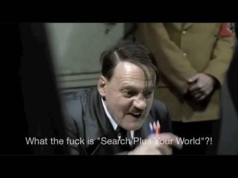 Hitler Hears About Google Search Plus Your World