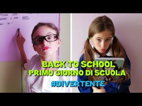 BACK TO SCHOOL PRIMO GIORNO DI SCUOLA - by Charlotte M.