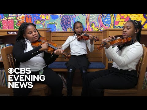 Violinist inspiring others by celebrating the work of black composers